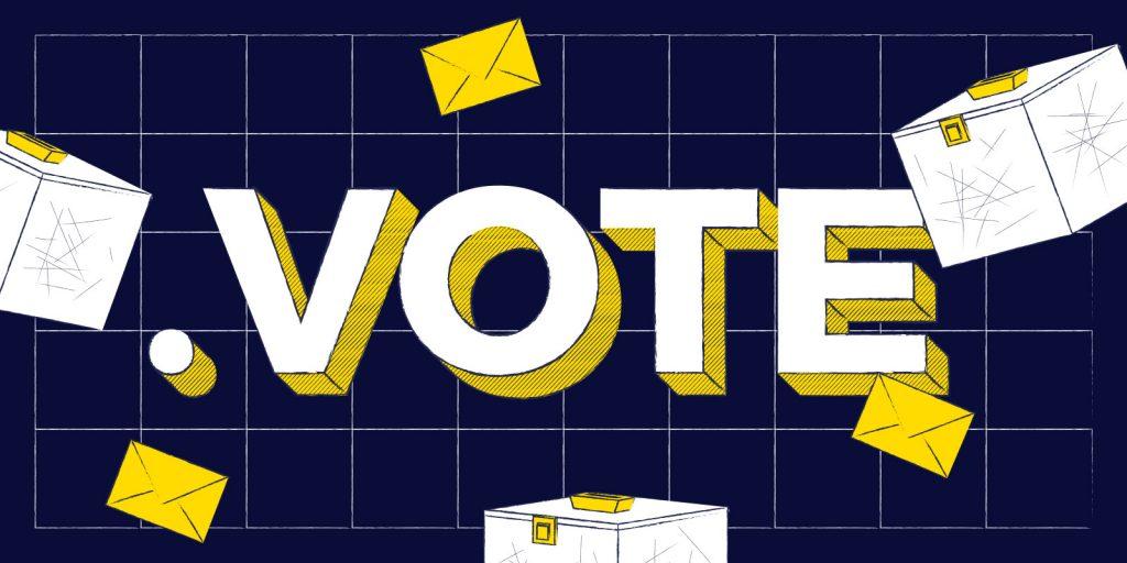 Le .VOTE et le .VOTO sont ouverts à tous
